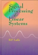 Signal Processing and Linear Systems