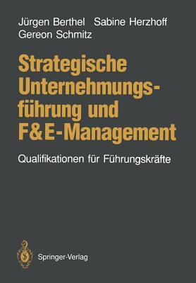 Strategische Unternehmungsfuhrung Und Fande-management