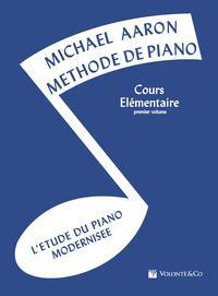 Aaron Methode de Piano Vol.1 Cours Elementaire