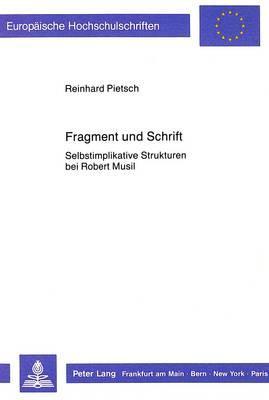 Fragment und Schrift