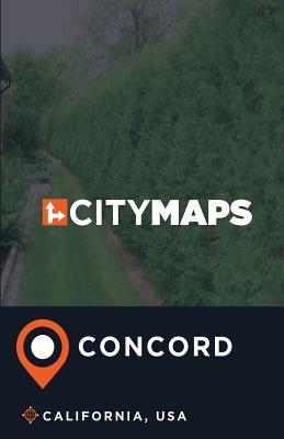 City Maps Concord California, USA