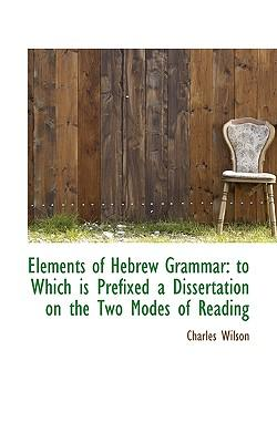 Elements of Hebrew Grammar
