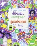 GRAN ALBUM DIBUJAR COLOREAR GARABATEAR NI¥OS