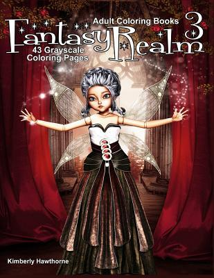 Adult Coloring Books Fantasy Realm 3