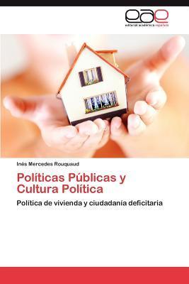 Políticas Públicas y Cultura Política