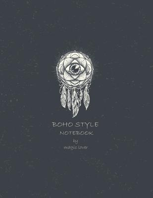 Boho style notebook