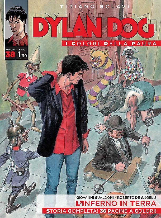 Dylan Dog - I colori della paura n. 38