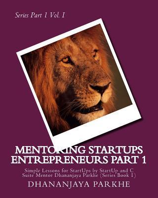 Mentoring Startups Entrepreneurs