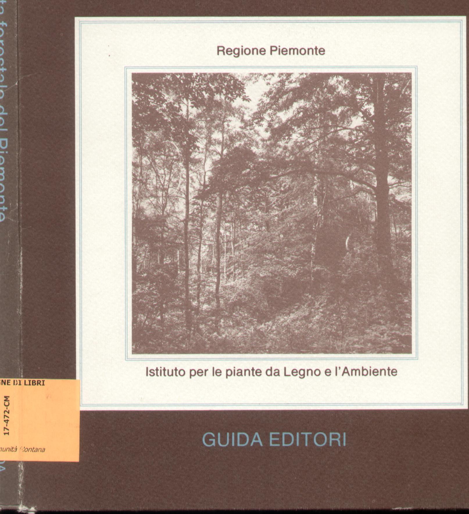 I boschi e la carta forestale del Piemonte