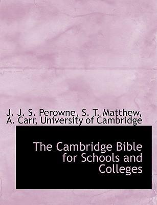 The Cambridge Bible for Schools and Colleges