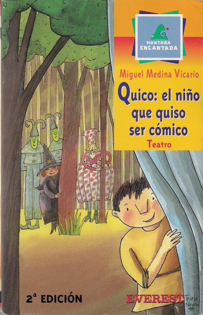 Quico, el niño que quiso ser cómico