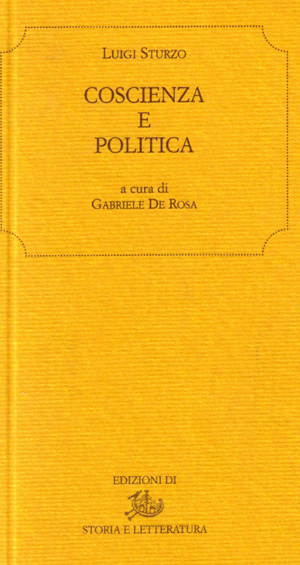 Coscienza e politica
