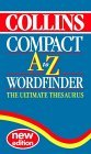 Collins Compact Thesaurus- The Ultimate Wordfinder