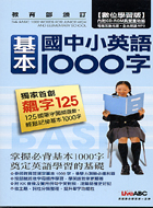 國中小英語基本1000字