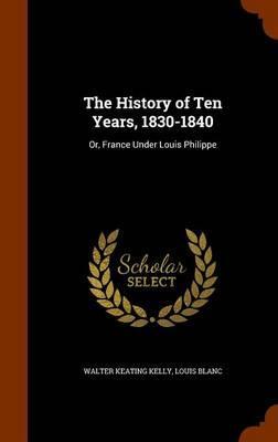 The History of Ten Y...