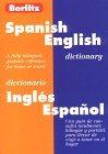 Berlitz Spanish-English Dictionary/Diccionario Engles-Expanol