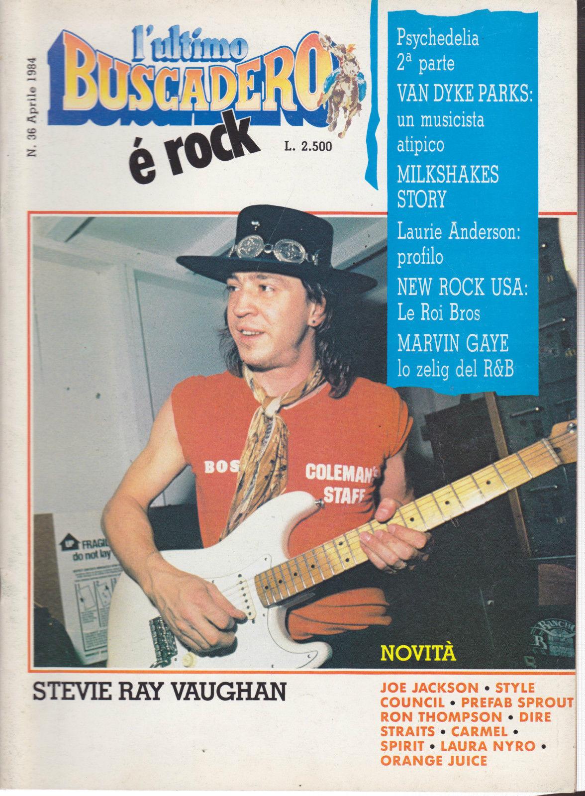 L'ultimo buscadero n.36 (aprile 1984)