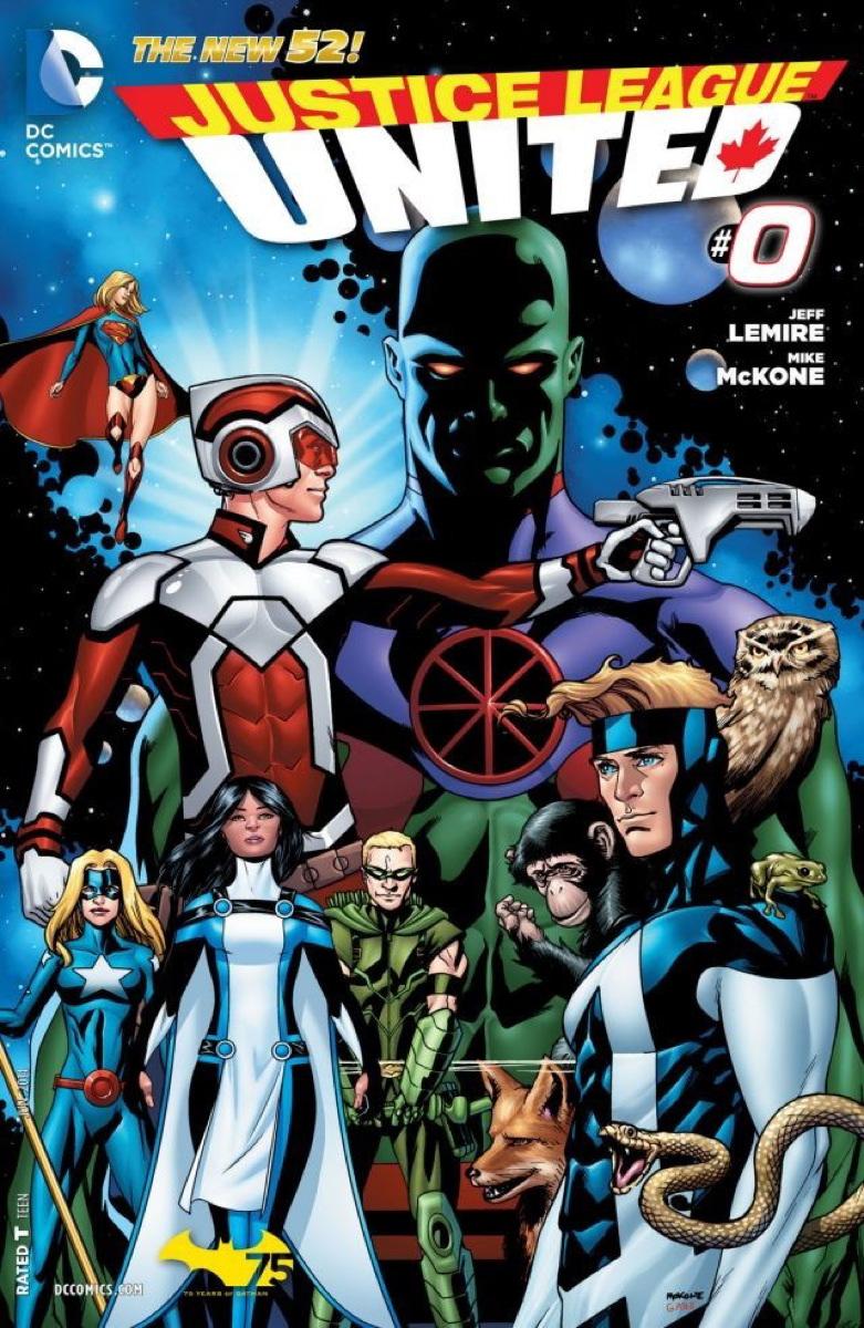 Justice League United Vol.1 #0