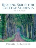 Reading Skills for College Students, Sixth Edition