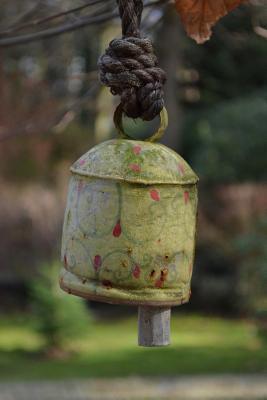 Vintage Green Garden Bell Journal