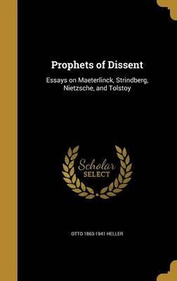 PROPHETS OF DISSENT