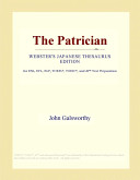 The Patrician (Webster's Japanese Thesaurus Edition)