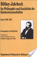 Dilthey-Jahrbuch Band 12/ 1999-2000