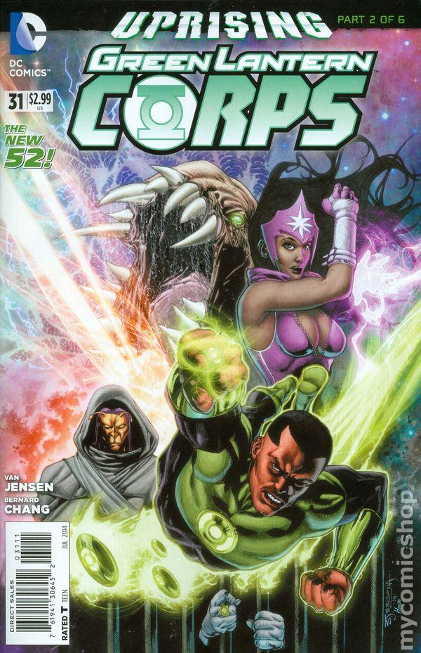 Green Lantern Corps Vol.3 #31