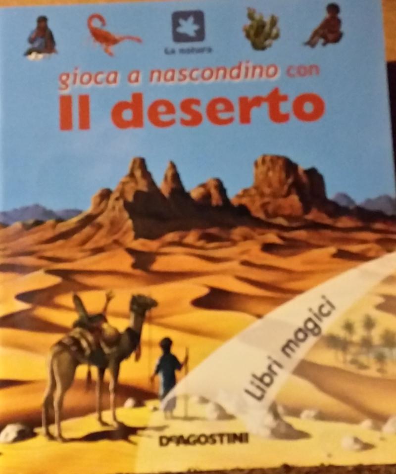 Gioca a nascondino con il deserto