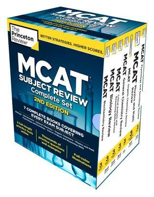 The Princeton Review Mcat Subject Review Complete Set
