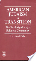 American Judaism in Transition