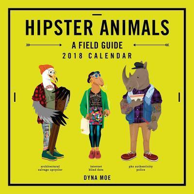 Hipster Animals 2018 Calendar