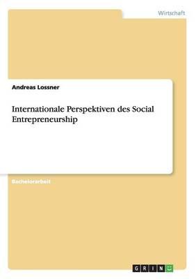 Internationale Perspektiven des Social Entrepreneurship