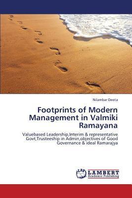 Footprints of Modern Management in Valmiki Ramayana
