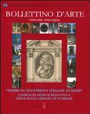 «Tombs of illustrious italians at Rome». L'album di disegni RCIN 970334 della Royal Library di Windsor