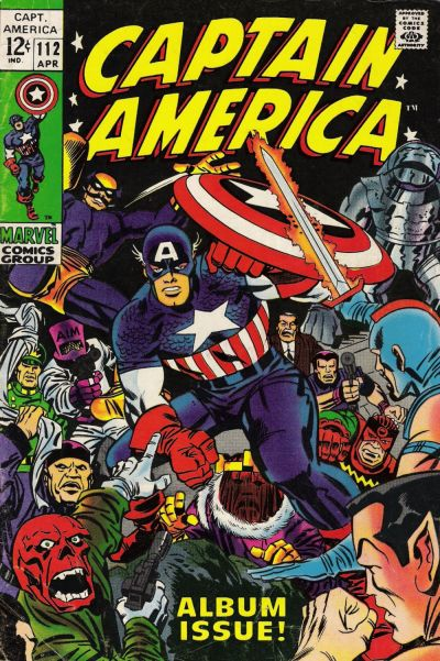 Captain America Vol.1 #112