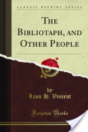 The Bibliotaph and Other People