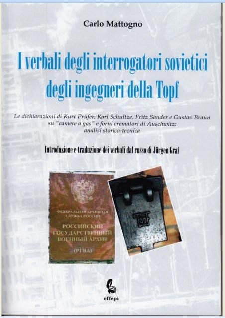I verbali degli interrogatori sovietici degli ingegneri della Topf