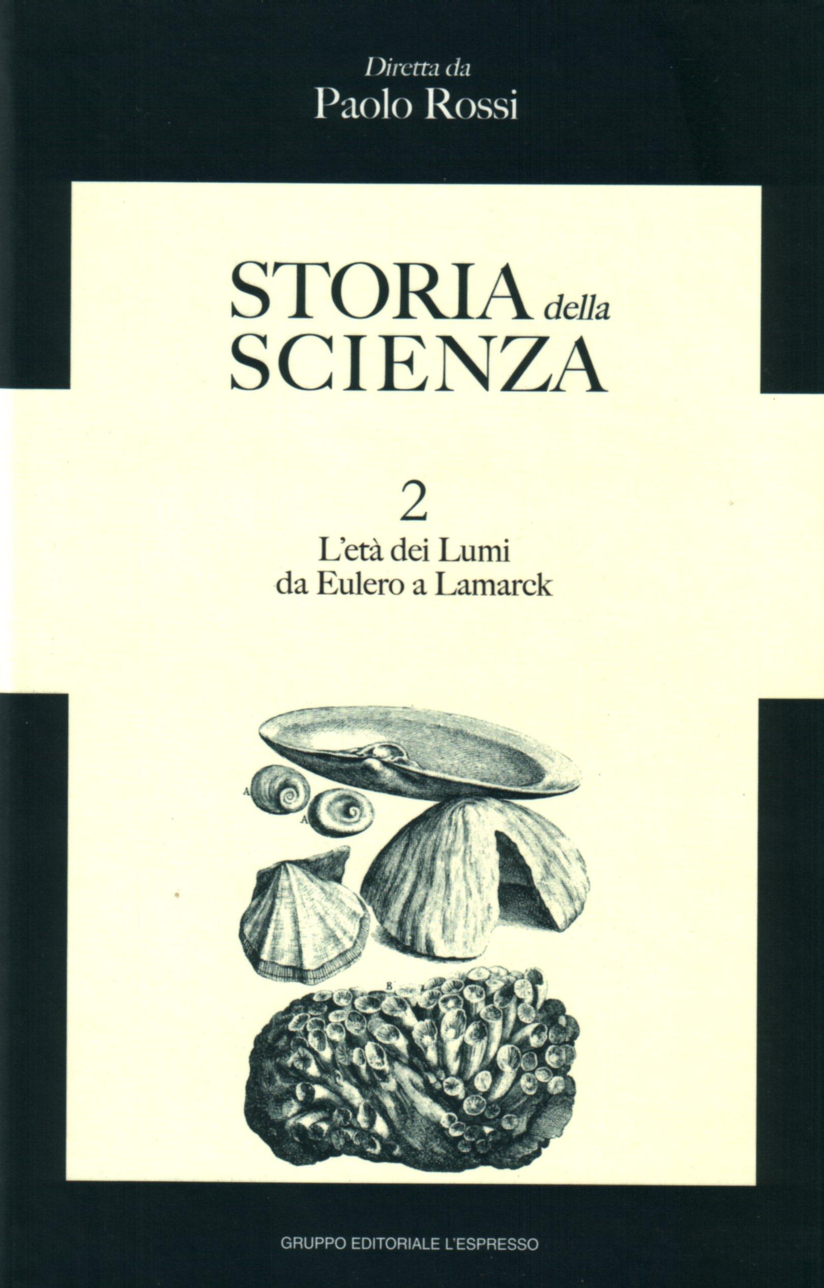 Storia della scienza vol. 2
