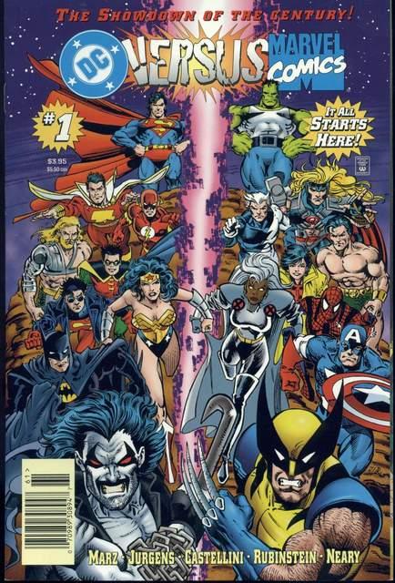 DC versus Marvel #1