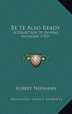 Be Ye Also Ready