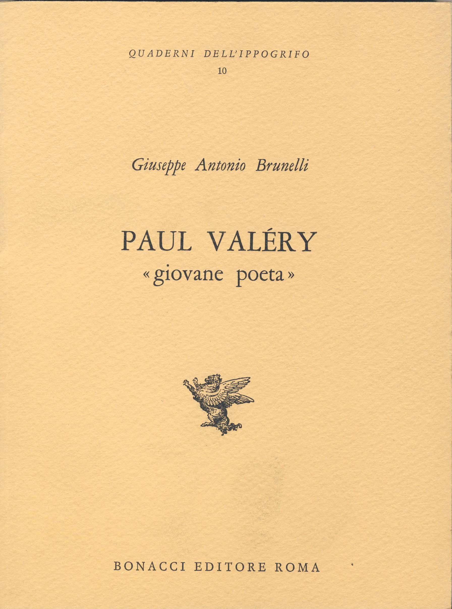 Paul Valéry giovane poeta