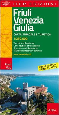 Friuli Venezia Giulia. Carta stradale e turistica 1