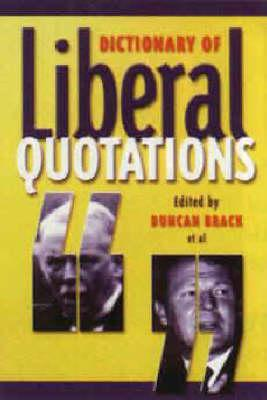 Dictionary of Liberal Quotations