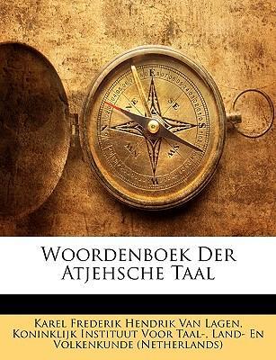 Woordenboek Der Atjehsche Taal