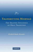 Transmitting Mishnah