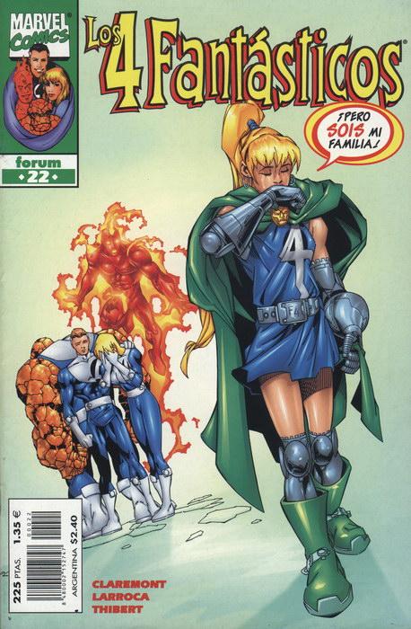 Los 4 Fantásticos Vol.3 #22 (de 34)