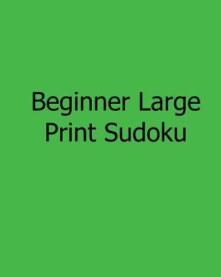 Beginner Large Print Sudoku