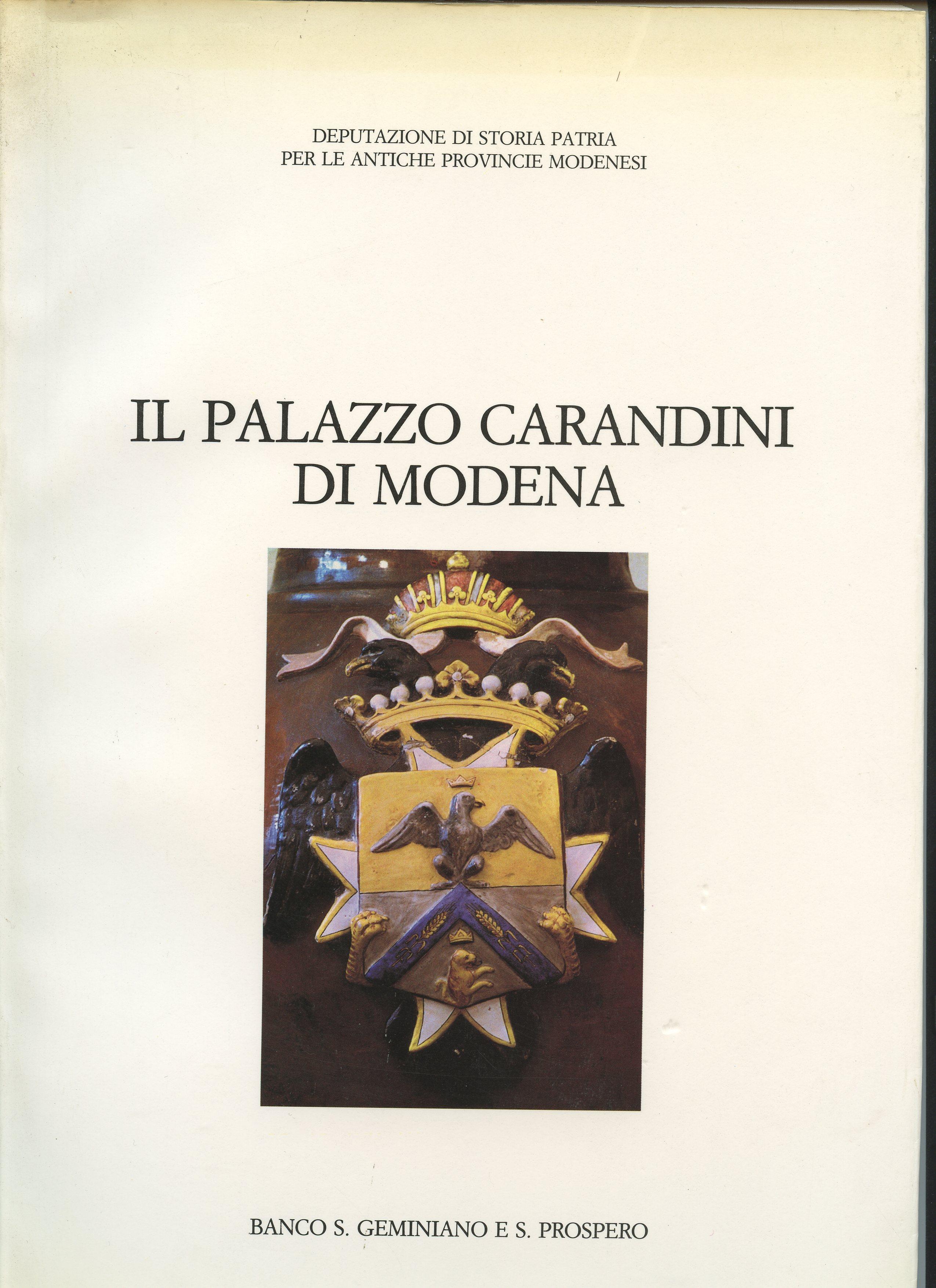 Il Palazzo Carandini di Modena