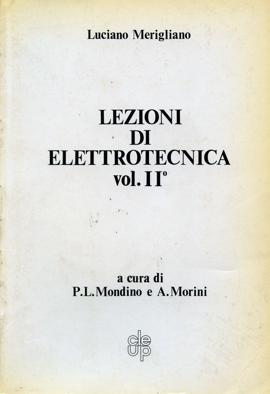 Lezioni di elettrotecnica [2]